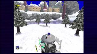 Sonic Adventure Dx: Ice Cap (sonic) [1080 Hd]