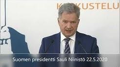 Suomen presidentti Sauli Niinistö - Korona