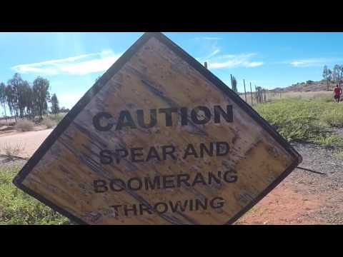 Mornington Island Deadly Runners - Running to Uluru