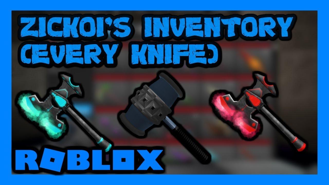 Roblox Assassin Best Inventory Irobux Update Zickoi S Roblox Assassin Inventory 2020 Insane Youtube