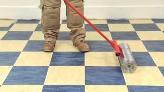 Marmoleum Tile Installation Video