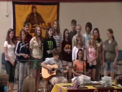 Fort Gratiot Middle School Graduation - Johnny Rowling ~ Green Day