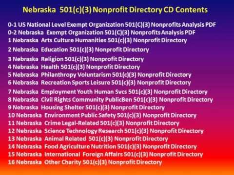 Introducing Nebraska 501(c)(3) Nonprofit Directory