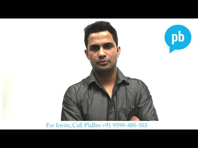 Supraneet Khanna Plabro Testimonial - YouTube