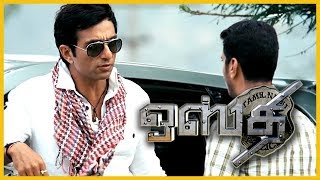 Jithan Ramesh bombs Minister's guest house | Osthe Scenes | Sonu Sood Sets fire to Nassar's Mill