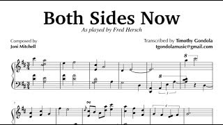 Both Sides Now| Fred Hersch (Piano Transcription)