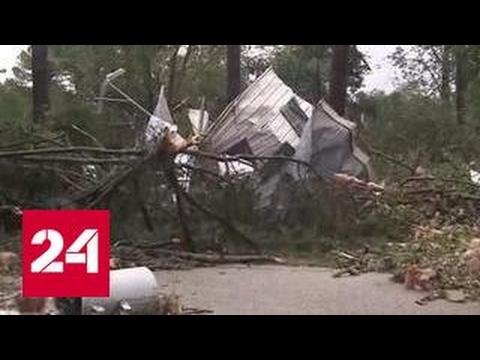 Мощный торнадо обрушился на Северную Каролину
