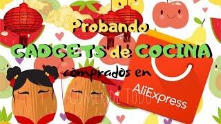Probando GADGETS de COCINA de #Aliexpress
