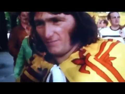 Old Glasgow in the 70 s ~ Bin Strike ~ Scotland Munich World Cup Team.