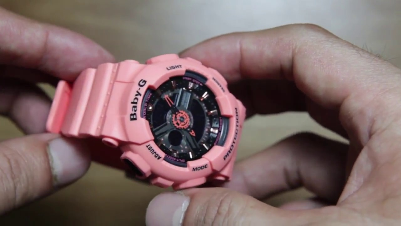 Casio Baby G Ba 111 4a2 Youtube 112 4a
