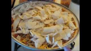 Ernie's Lunch Tamale Pie Enchilada Casserole 11apr2014