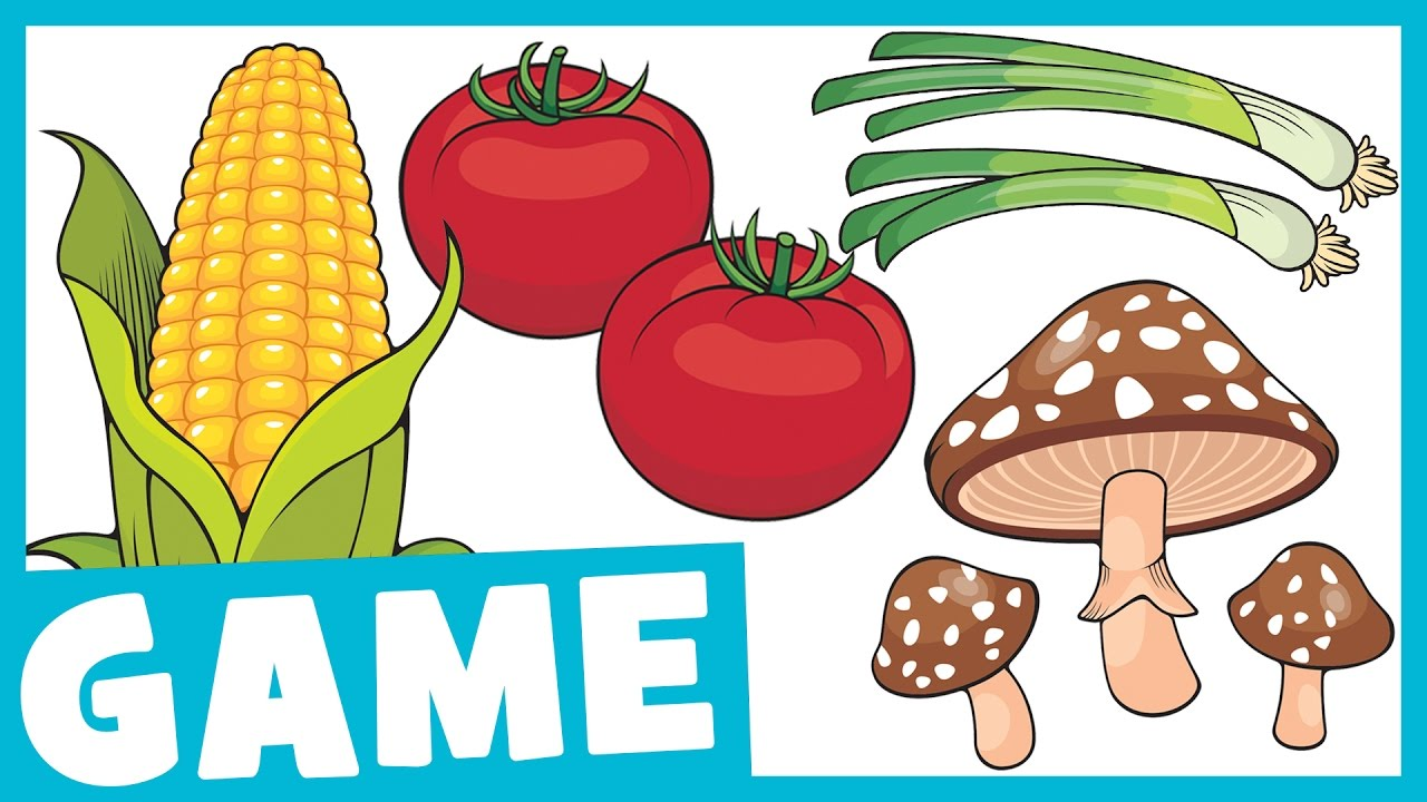 Learn Vegetables for Kids | What is it? Game for Kids | Maple Leaf ...