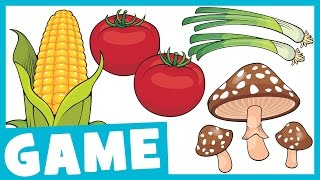 Learn Vegetables for Kids | What is it? Game for Kids | Maple Leaf Learning Playhouse
