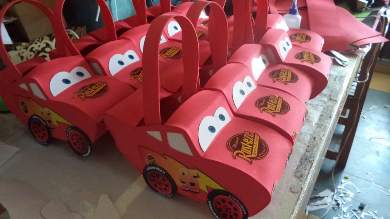 Ideas De Decoración Fiesta Cars Rayo Mcqueen