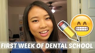 First Week of D1 || Brittany Goes to Dental School