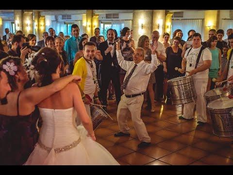 Batucada para bodas Diamonds. Energia, magia y tambores para tu boda divertida