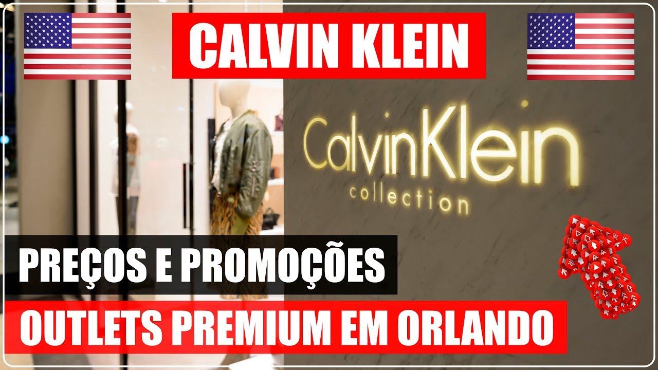 b07067a479e0b CALVIN KLEIN no ORLANDO PREMIUM OUTLETS nos EUA com PREÇOS! DICAS de ...
