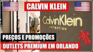 CALVIN KLEIN no ORLANDO PREMIUM OUTLETS nos EUA com PREÇOS! DICAS de VIAGEM, MODA, BOLSAS e COMPRAS.