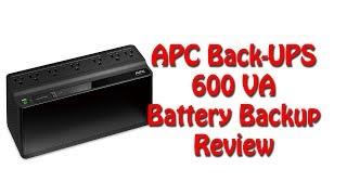 APC Back-UPS 600VA UPS Battery Backup [2018 Review]