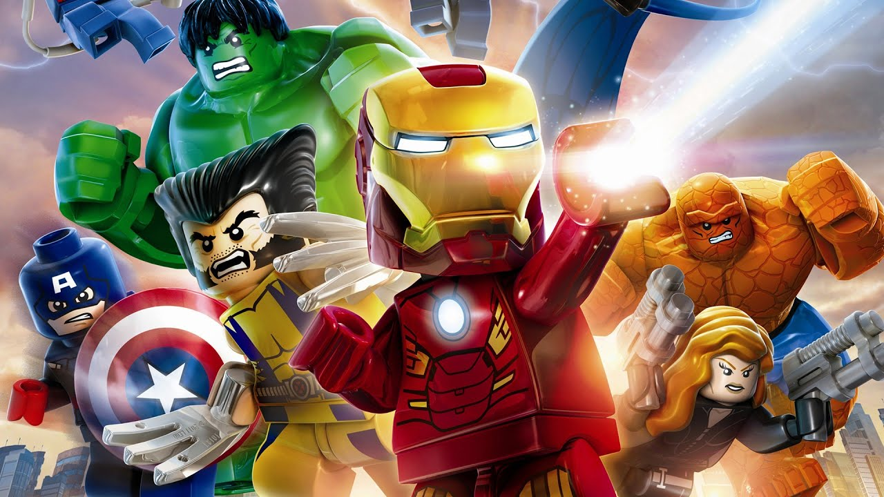 Lego marvel super heroes full movie 2013 all cutscenes - Logo super heros ...