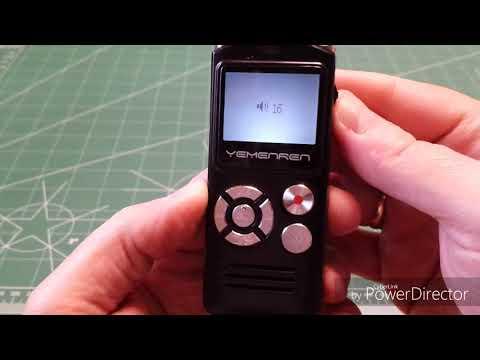 Yemenren R5 Voice Recorder and Mp3 Player