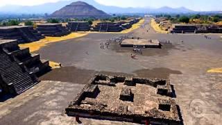 Теотиуакан. Мексика.  Достопримечательности мира(Теотиуакан - самый старый город западного полушария, расположенный в 50 километрах к северо-востоку от..., 2014-04-14T16:05:44.000Z)