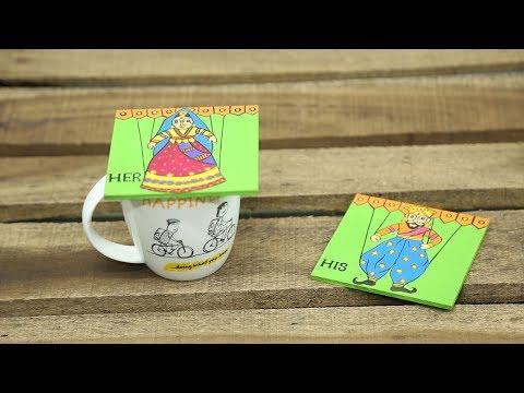 DIY Handmade Wooden Coasters