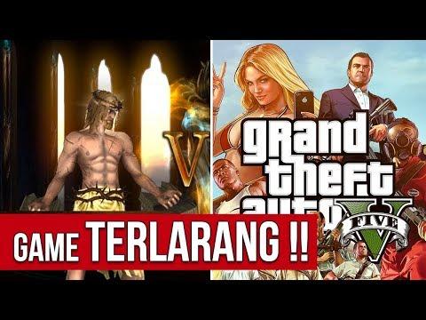 5 GAME YANG DILARANG DI INDONESIA, ALASANNYA KONYOL BANGET!