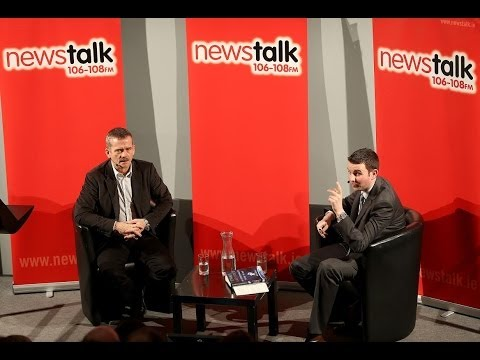 Newstalk Breakfast interview Chris Hadfield at Science Gallery Dublin