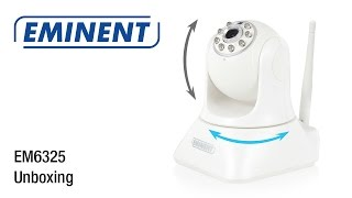 EM6325 CamLine Pro Pan/Tilt 720p HD IP Camera (Unboxing & Installatie)