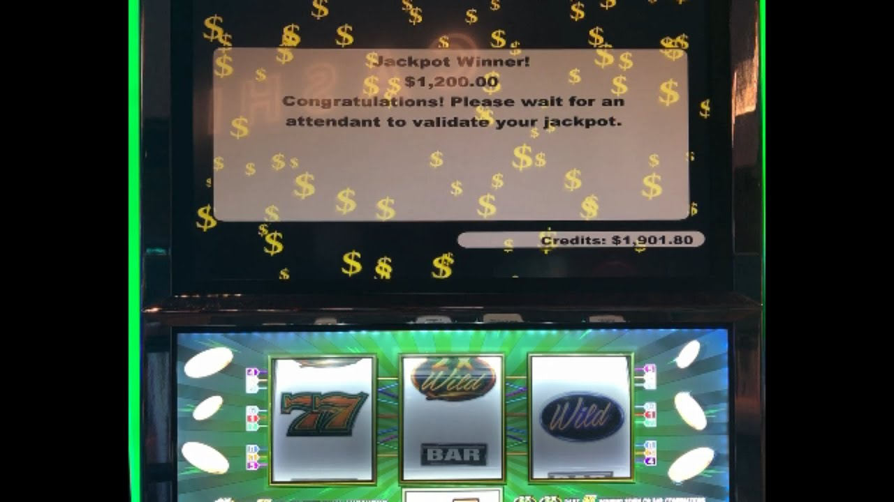 VGT SLOTS Assortment of 9 Lines Jackpot JB Elah Slot Channel Choctaw Casino Durant How To YouTube