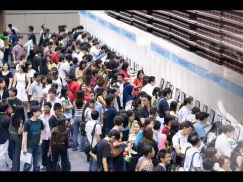 Highlights from JobsDB.com Career Expo 2009 - Singapore
