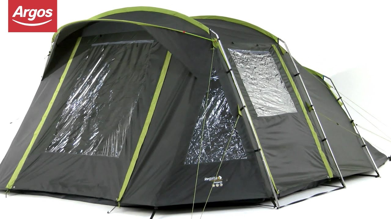 Regatta 6 Man Tent & Regatta Tent