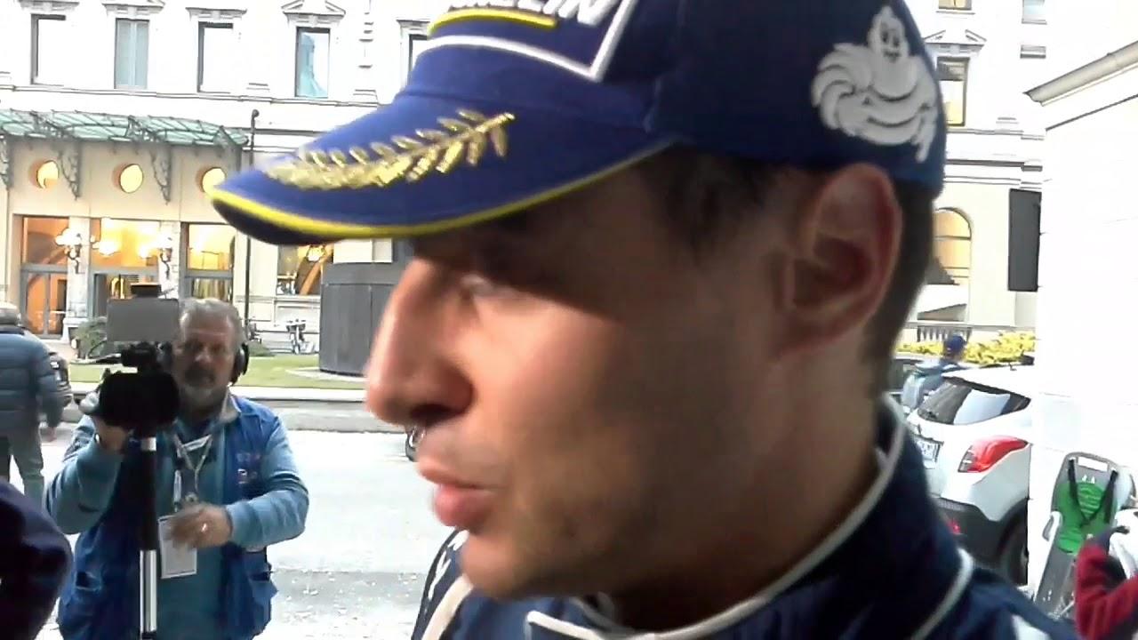 STEFANO ALBERTINI VINCE IL RALLY DI COMO, LE PRIME PAROLE - YouTube
