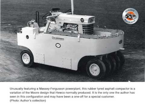 Forgotten machinery manufacturers: Hewco