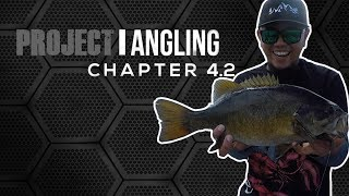 [HD] PROJECT: ANGLING - Chapter 4.2 - Winnipeg River Mid-day Fishing for Giant Bass