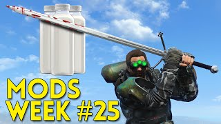 Fallout 4 TOP 5 MODS Week #25 - NIGHT VISION, CRAFTABLE VERTIBIRD, MILK