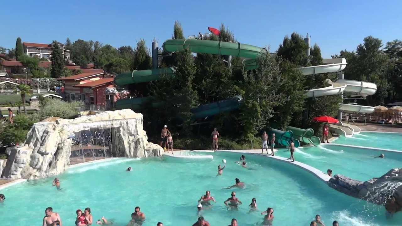 Camping piani di clodia lazise italia youtube for Piani di piani di casa