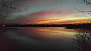 """The lagoons  sunset frankfort, indiana  """"gimme three steps""""  cover by tucson junction"""
