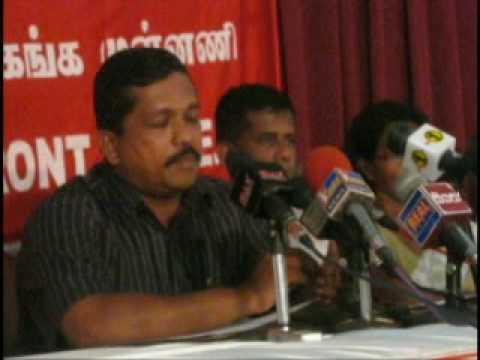 Electricity Boad Union press conferance 2009.08.24