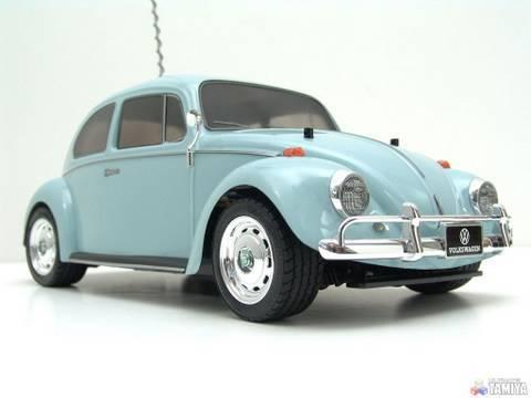 Tamiya vintage Volkswagen Beetle - M-02L - YouTube
