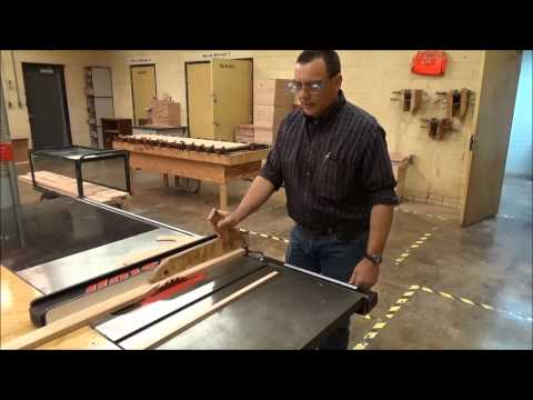 Table Saw Safety and Techniques