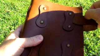 Unique Leather Journal From Heartwood Gifts