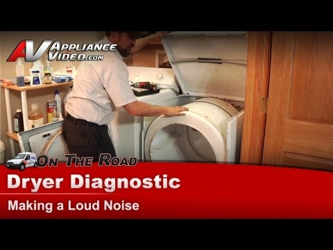 How To Fix A Squeaky Noisy Dryer Doovi