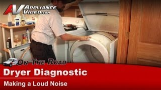 Maytag & Whirlpool Dryer Diagnostic - Making loud noise - PYE2300AYW