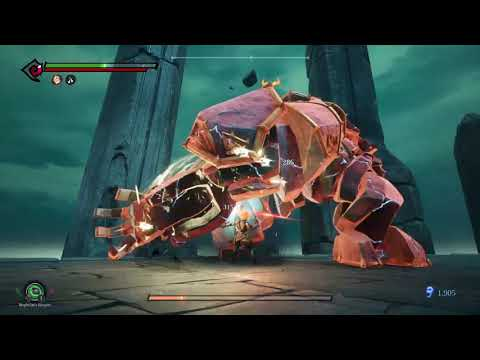 Darksiders III (Keepers of the Void) Boss Fight |