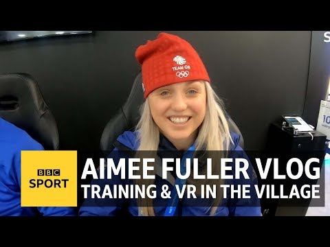 Life in the Pyeongchang 2018 athlete's village: Aimee Fuller's Winter Olympics vlog - BBC Sport