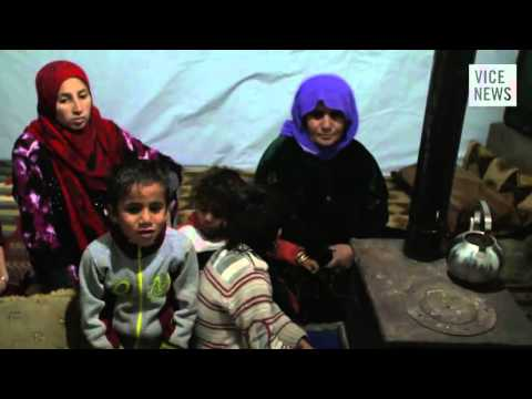 Arab Winter  Syrian Refugees in Lebanon's Bekaa Valley   YouTube