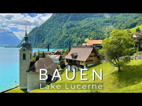 Stunning historical villages of Switzerland, Ep.1 - Bauen, Lake Lucerne, Canton Uri