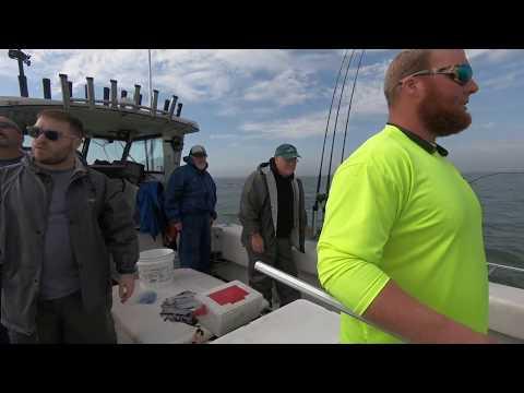 Lake Erie Walleye Fishing Trip 2018 - Day 1